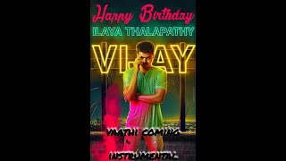 Thalapathy birthday special | Vaathi coming instrumental cover