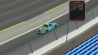 NR2003PWF CTS mod hot lap at Lowes BR