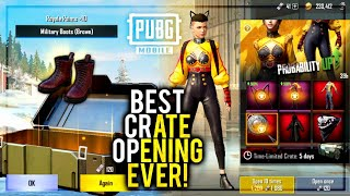 My Best Crate Opening Ever PUBG Mobile | Future Gaming