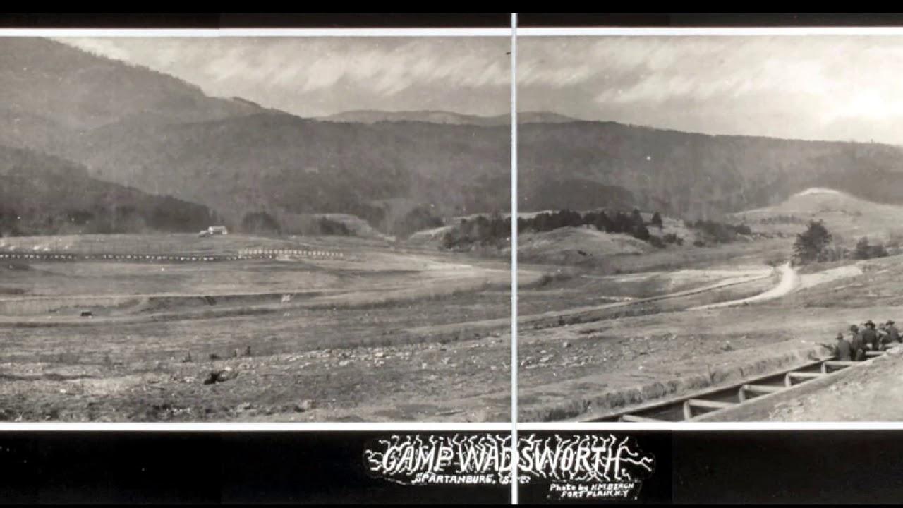 Camp Wadsworth,WWI,United States Rifle Range,Glassy Mountain,South Carolina,SC