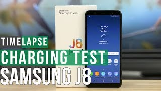 Battery charging test Samsung Galaxy J8
