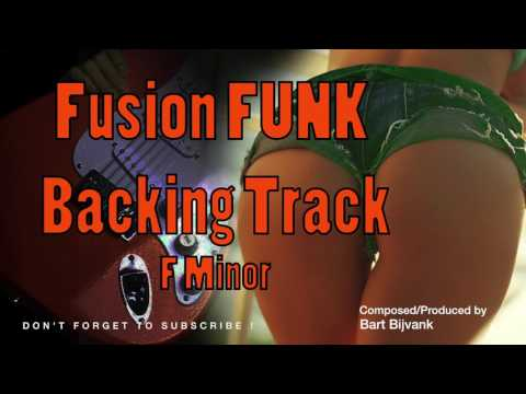 Fusion Funk Backing Track F Minor Smooth