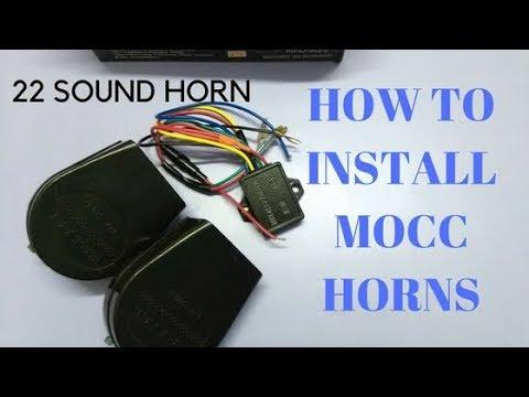 22 Sounds in 1 Horn | Power Horns | Modification | Honda Activa