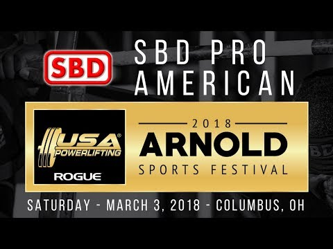 SBD Pro American at 2018 Arnold Sports Festival