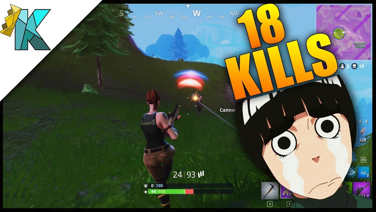 18 Kills Fortnite Battle Royale Gameplay Personal Kill Record 3