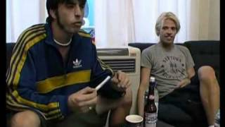 Dave Grohl and Taylor Hawkins talk about RHCP