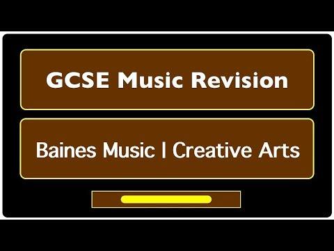 GCSE Music Revision - Italian Terminology