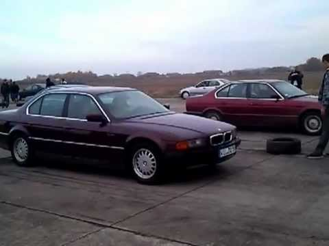 bmw e38 728i vs e34 520i youtube. Black Bedroom Furniture Sets. Home Design Ideas