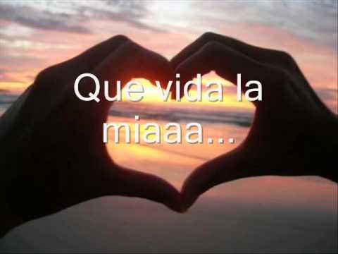 Reik Que vida la mia (letra)