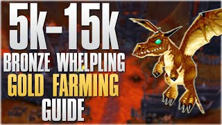 WoW Gold Farming: How To Farm Bronze Whelpling! 7.0.3 5k-15k Gold Hour Group Farming Tutorial!