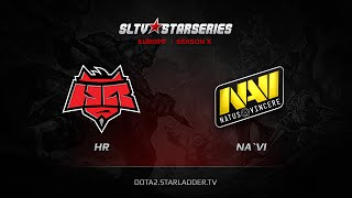 HR vs Na`Vi, SLTV Europe Season X, Day 20, Game 2