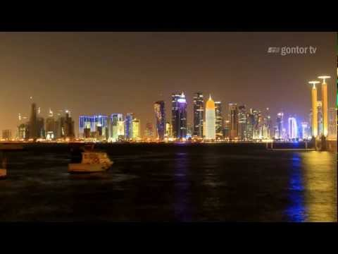 Doha Qatar - A Beautiful Time Lapse - HD - Gontor TV