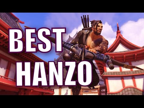 Unbelievable Hanzo 20 KILL STREAK Play by Aimbot Calvin Overwatch Pro  Gameplay