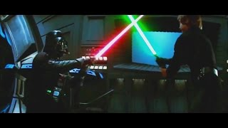 Star Wars: Luke Skywalker vs Darth Vader vs Darth Sidious