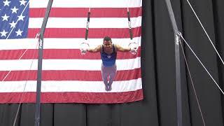 Trevor Howard - Still Rings - 2019 U.S. Gymnastics Championships - Senior Men Day 2