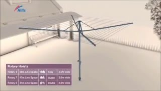 How to Select and Position your ideal Hills Washing Line