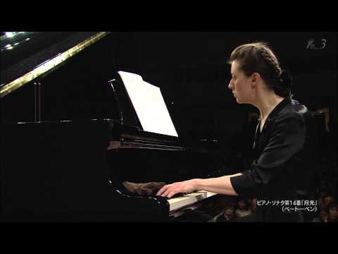 Irina Mejoueva: Beethoven piano sonata NO 14 - 1st movement