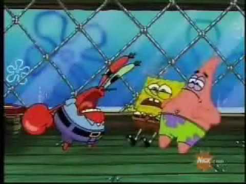 spongebob  act a fool