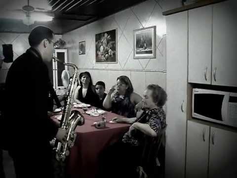 Saxofonista em Porto Alegre
