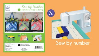 Sew By Number Tote Step 3 - Sew