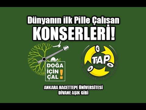 DOĞA İÇİN ÇAL - Divane Aşık Gibi - Ankara Hacettepe Üniversitesi