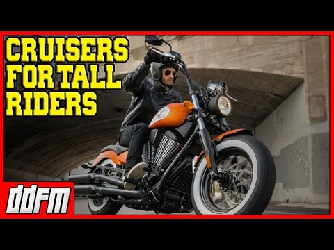 5 Best Beginner Cruiser Motorcycles For Tall Riders 2017!