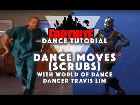 How To Dance : Fortnite Dance Moves | Scrubs Dance Tutorial Vs The Running Man