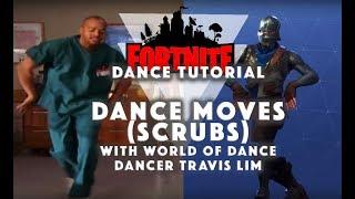 Fortnite Dance Moves | Scrubs Dance Tutorial vs The Running Man