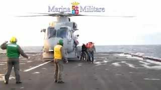 Marina Militare: soccorso al traghetto Norman Atlantic