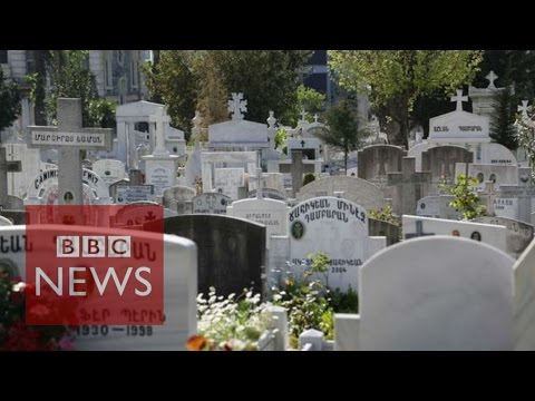 Armenia mass killing remembered  - BBC News