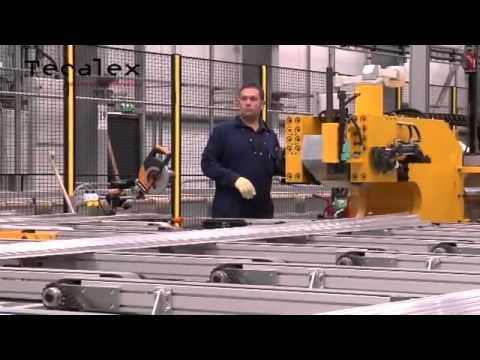 Технология экструзии алюминиевого профиля