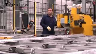 Технология экструзии алюминиевого профиля(, 2014-08-12T11:21:52.000Z)