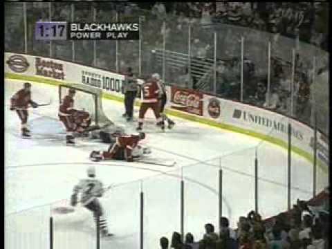 NHL 1995, Game 4 - Detriot Red Wings vs Chicago Blackhawks
