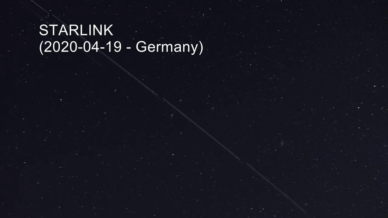 Starlink Satelliten Nrw