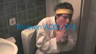 Bluewin ADSL Werbung