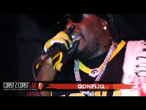 QonfliQ (@qonfliq2qonfliq ) Performs at Coast 2 Coast LIVE | Kansas City Edition 8/14/17
