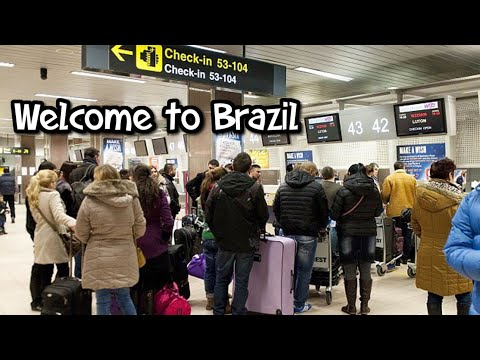 India To Brazil: Immigration, Security Check, Customs | HINDI