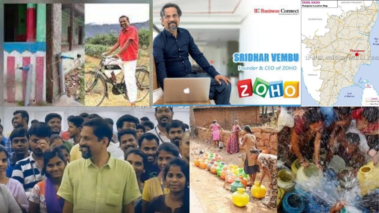 Zoho CEO's village in Tamil Nadu gets govt's piped water supply; he shares pics
