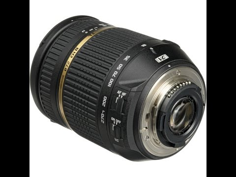 How to repair Tamron lens AF 18-270 VC with Zoom and Focus problem