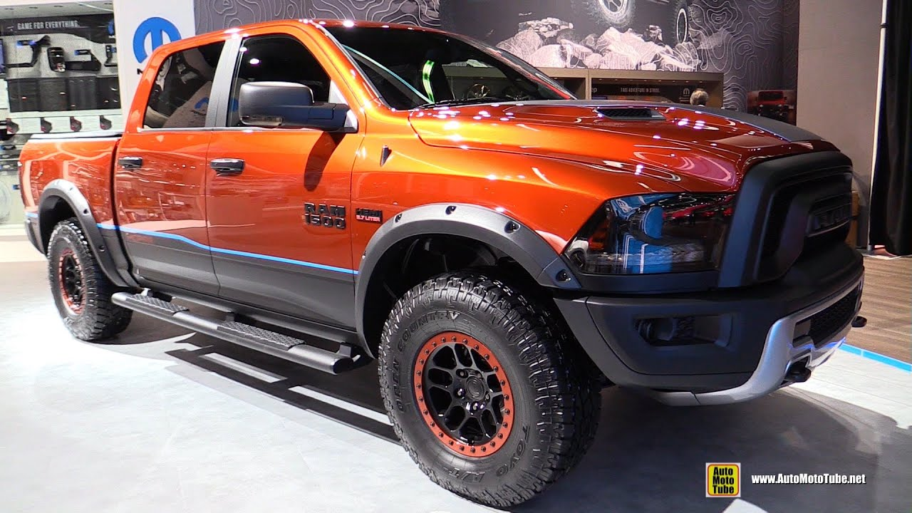 2016 ram 1500 rebel x mopar customized exterior and interior walkaround 2016 detroit auto show youtube