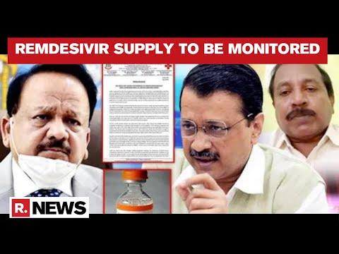 Delhi Govt To Set Up Control Room To Monitor Procurement & Supply Of Remdesivir
