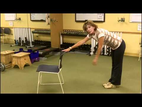 Stretching for Older Adults - Legs & Lower Back