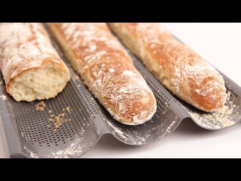 Homemade Baguette Recipe - Laura Vitale - Laura in the Kitchen Episode 713