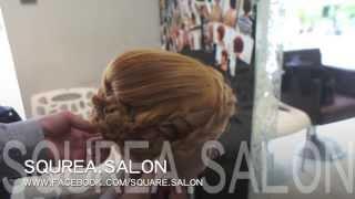5分鐘學識一個專業新娘髮型