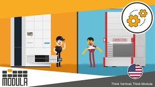 Why Choose Modula`s Vertical Storage Solutions? Modula vs. Competition