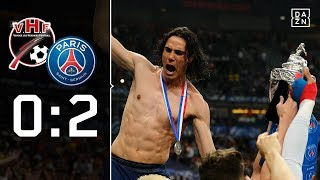 Drittligist verpasst Sensation: Les Herbiers - Paris Saint-Germain 0:2 | Highlights |Coupe de France