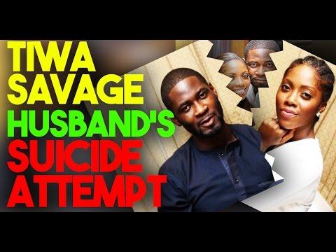 Tiwa Savage's Husband Suicidal Attempt #SaharaENT
