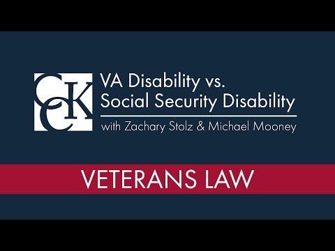 VA Disability vs. Social Security Disability
