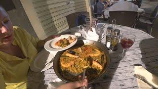 Поужинали в ресторане Rincon De Calp у дома. Отдых в Испании сентябрь 2019