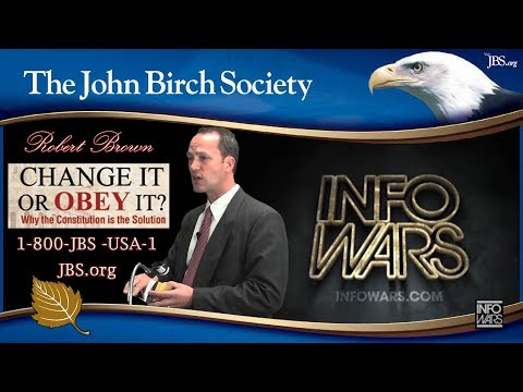 Robert Brown Con-Con Movement on Info Wars